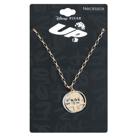 Up - Adventure Is Out There - Necklace - gold-coloured