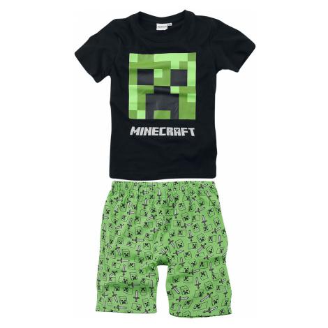 Minecraft - Creeper - Children's Pyjamas - black-green
