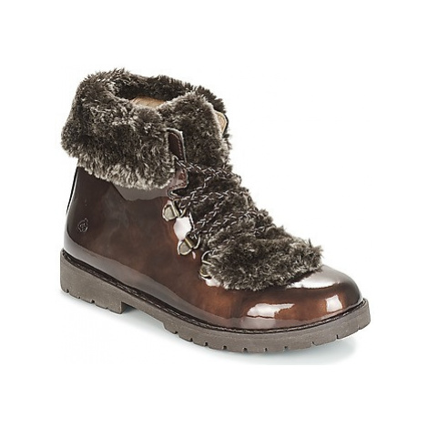 Citrouille et Compagnie JITTER girls's Children's Mid Boots in Brown