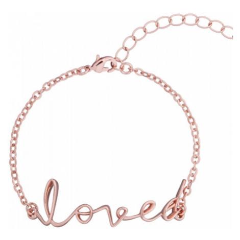 Larna: Loved Script Bracelet