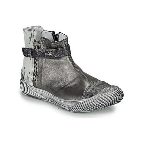 Ikks AMANDA girls's Children's Mid Boots in Grey