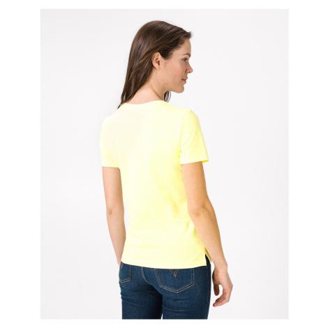 Guess T-shirt Yellow