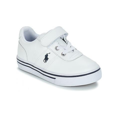 Polo Ralph Lauren HANFORD EZ girls's Children's Shoes (Trainers) in White
