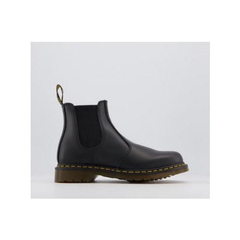 Dr. Martens 2976 Chelsea Boots BLACK LEATHER Dr Martens