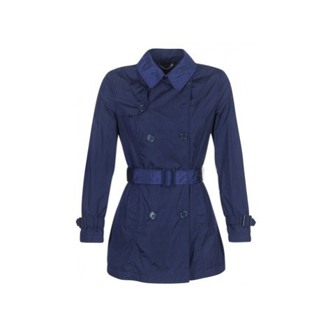 Geox NEKSAMA women's Trench Coat in Blue