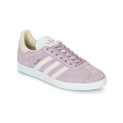 Adidas GAZELLE W women's Shoes (Trainers) in Pink