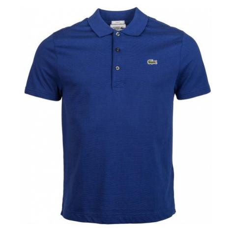 Lacoste MEN S S/S POLO dark blue - Men's polo shirt