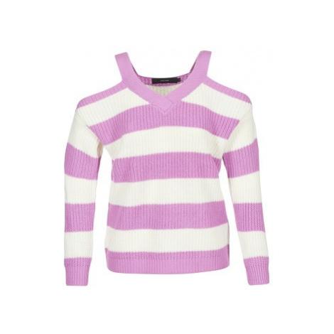 Vero Moda VMSIBBO women's Sweater in Purple