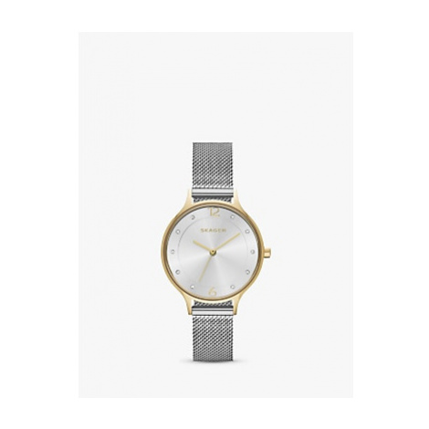 Skagen SKW2340 Women's Anita Mesh Bracelet Strap Watch, Silver