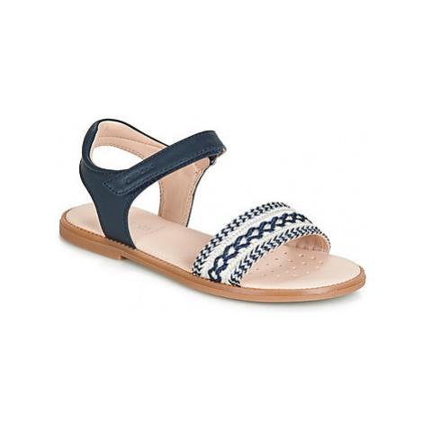 Geox J SANDAL KARLY GIRL girls's Children's Sandals in Blue