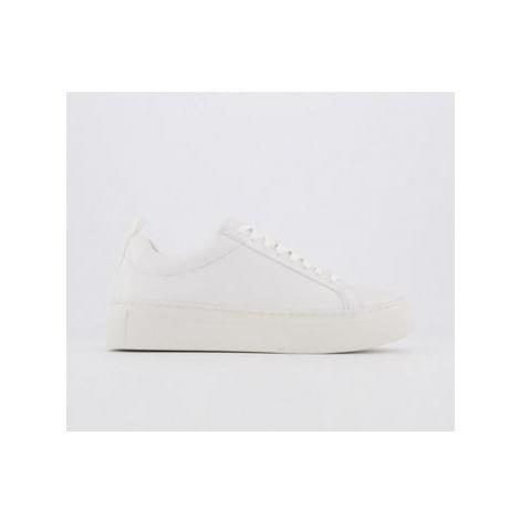 Vagabond Zoe Platform Sneaker WHITE