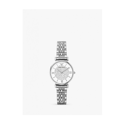 Emporio Armani Women's Crystal Bracelet Strap Watch