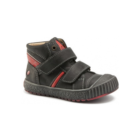 GBB RAIFORT boys's Children's Shoes (High-top Trainers) in Black