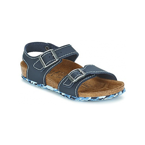 Birki's NEW YORK girls's Children's Sandals in Blue