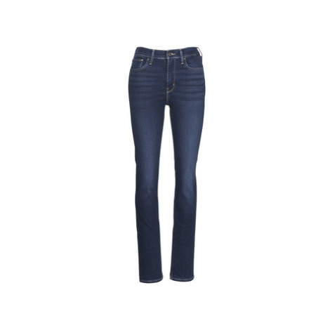 Levis 725 HIGH RISE STRAIGHT women's Jeans in Blue Levi´s