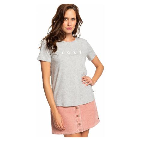 T-Shirt Roxy Red Sunset - SGRH/Heritage Heather - women´s