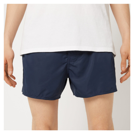 Emporio Armani Men's Tape Detail Swim Shorts - Navy - EU 52/L - Navy