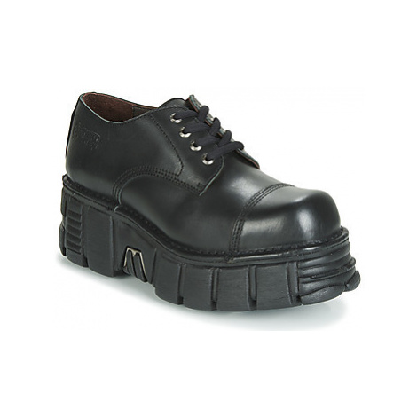New Rock M-MILI003-C2 men's Casual Shoes in Black