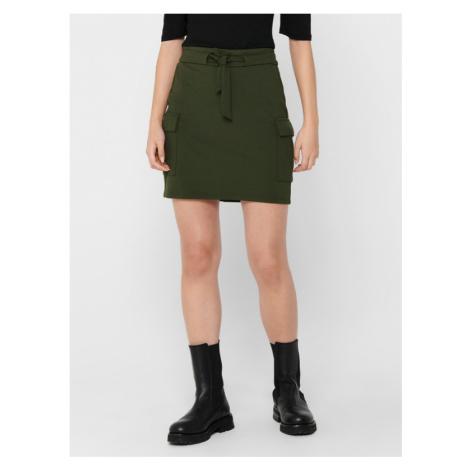 ONLY Poptrash Skirt Green