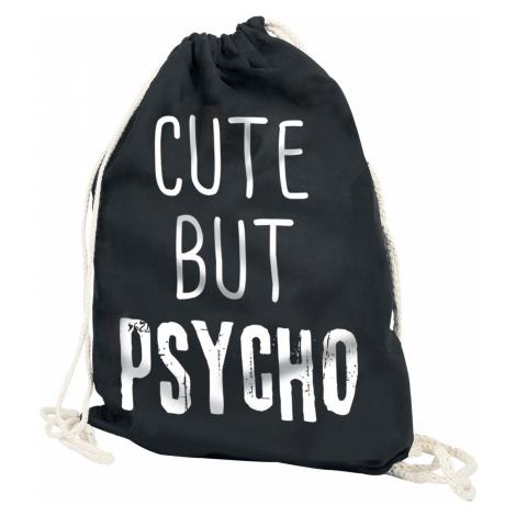 Cute But Psycho - - Gym Bag - black