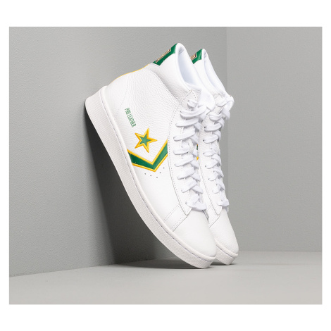 Converse Pro Leather Gold Standard White/Green