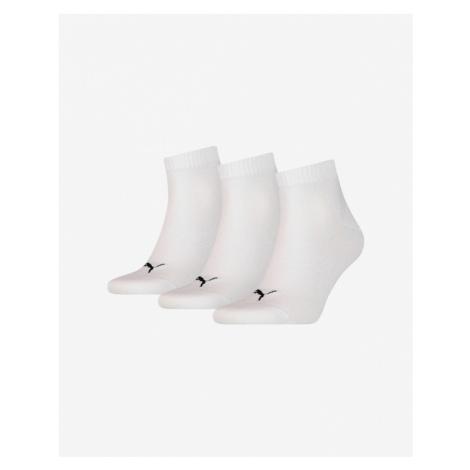 White women's thermal crew socks