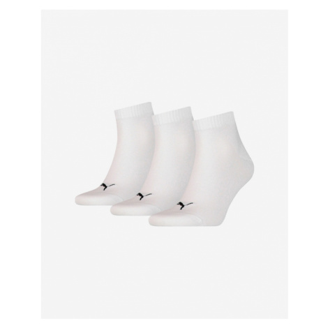 Puma Set of 3 pairs of socks White