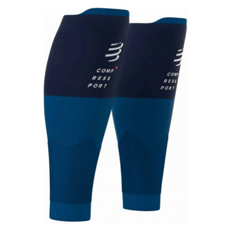 Compressport R2V2 blue - Compression calf sleeves