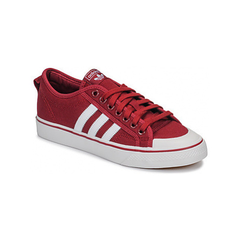 Adidas NIZZA men's Shoes (Trainers) in Bordeaux