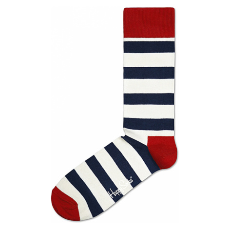 Happy Socks Stripe Socks White
