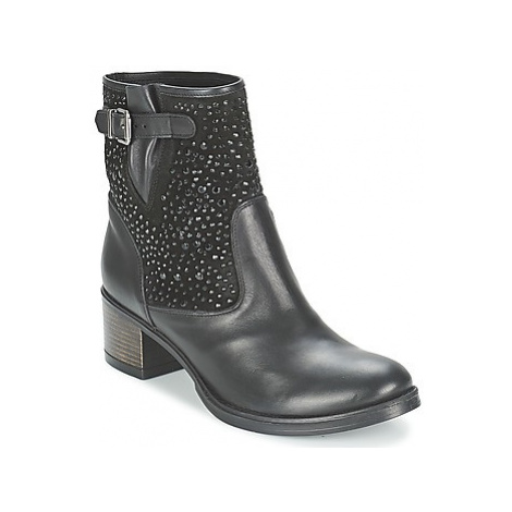 Meline NERCRO women's Low Ankle Boots in Black