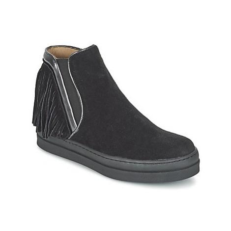 Unisa CELIN girls's Children's Mid Boots in Black