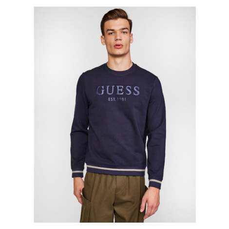 Guess Beau Sweatshirt Blue