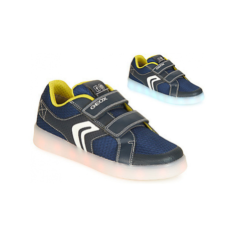 Geox J KOMMODOR BOY boys's Children's Shoes (Trainers) in Blue