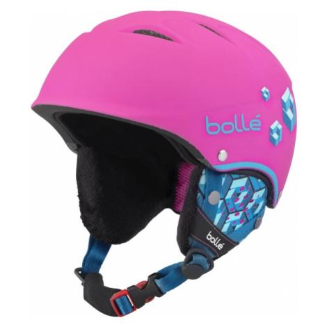 Bolle B-FREE pink - Kids' ski helmet