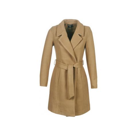 Only ONLREGINA women's Coat in Brown