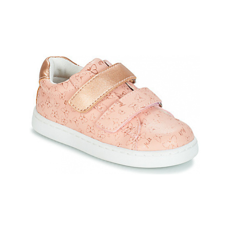 Mod'8 OUPAPILLON boys's Children's Shoes (Trainers) in Pink
