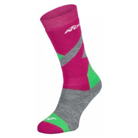 Nordica FREESKI BASIC GIRL grey - Girls' ski socks