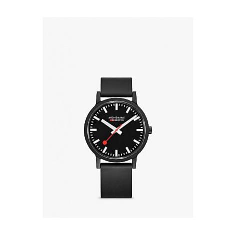 Mondaine Unisex Essence Rubber Strap Watch