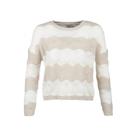 Only ONLKARO women's Sweater in Beige