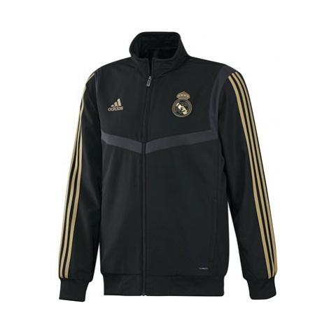 Real Madrid Presentation Jacket - Black Adidas