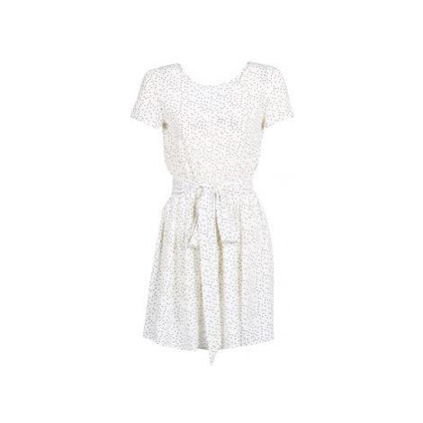 Le Temps des Cerises MARILYN women's Dress in White
