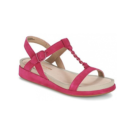 Hush puppies CHAIN T women's Sandals in Pink