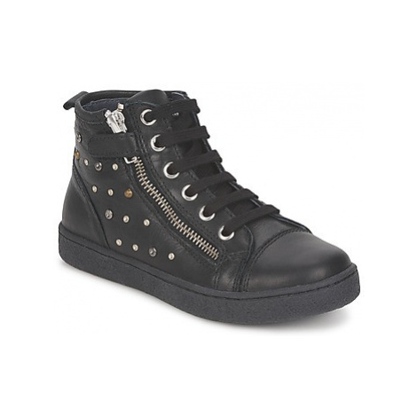 Naturino - girls's Children's Shoes (High-top Trainers) in Black