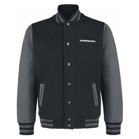 Overwatch - Logo - College Jacket - black-grey