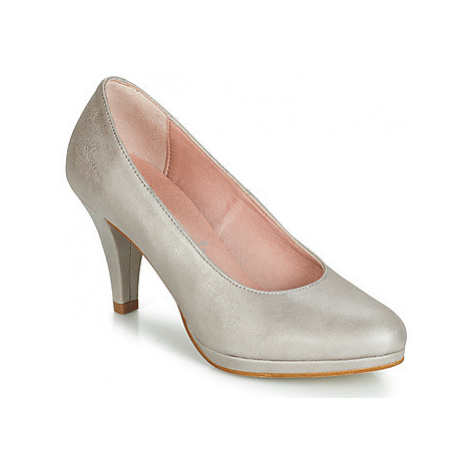 Dorking 7118 women's Court Shoes in Silver