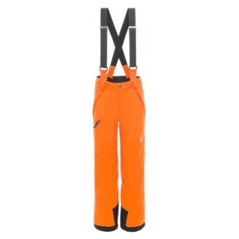 Spyder PROPULSION PANT orange - Boys' ski trousers