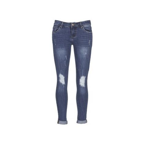 Yurban IFOUNOLE women's Skinny Jeans in Blue