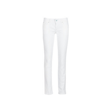 Pepe jeans SATURN women's Jeans in White