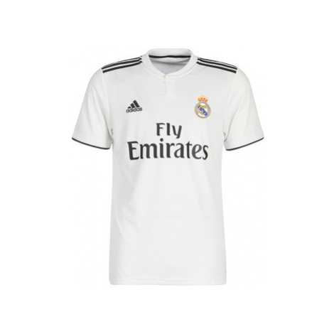 Adidas REAL JERSEY men's T shirt in White